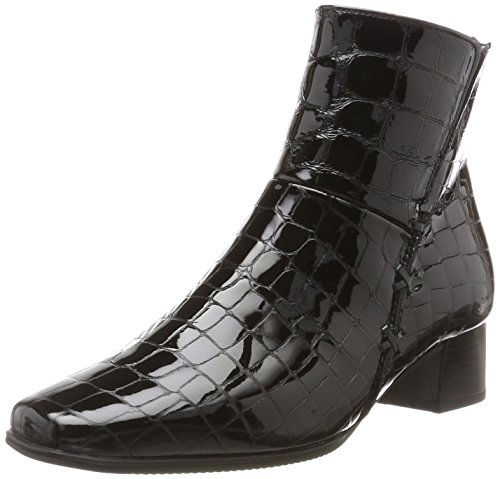Gabor Shoes Damen Comfort Basic Stiefel, Schwarz (97 Schwarz (Mel.)), 41 EU