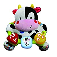 Vtech 166003 Baby Little Friendlies Moosical Beads Baby Toy Baby Educational and Sensory Toy with Music and Light For Babies & Toddlers from 3 Months+