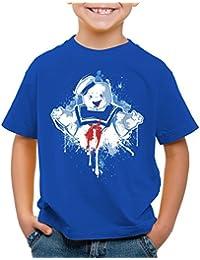 style3 Stay Puft Marshmallow Man T-Shirt für Kinder geisterjäger schaumzucker