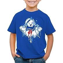 dbd598eee style3 Stay Puft Hombre de Malvavisco Camiseta para Niños T-Shirt  Cazafantasmas azucarillo