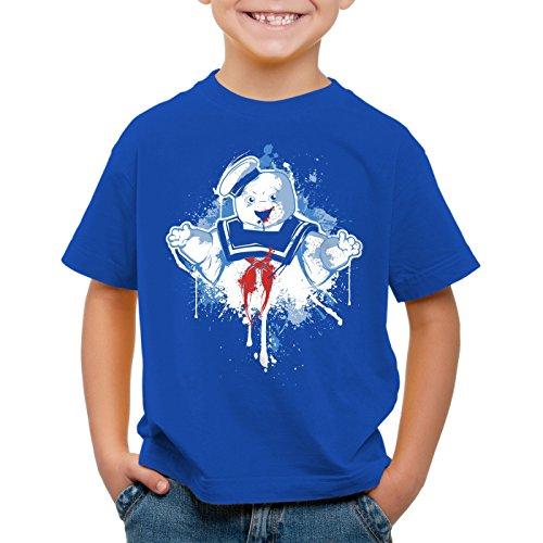 style3 Stay Puft Marshmallow Man T-Shirt für Kinder geisterjäger schaumzucker, (Shirt Ghostbuster)