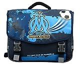 Olympique de Marseille 38cm OM Cartable Mixte Enfant, Bleu