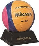 Mikasa W1.5W Mini Wasserball Waterpolo, Gelb/Lila/Magenta, 1