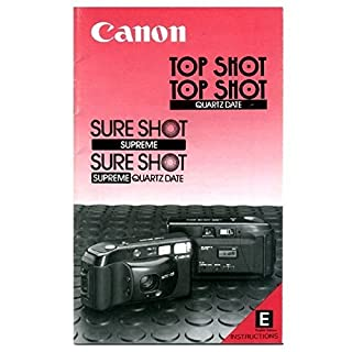 Canon SureShot Supreme (Lens: 38/2.8) (= Autoboy 3 = TopShot) - copy of the inst