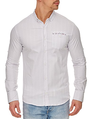 Tazzio - Chemise casual - Homme Weiss 2