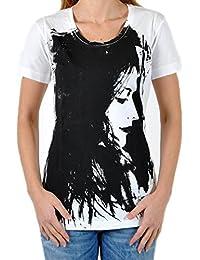 T-Shirt Diesel Tulax 100 Blanc