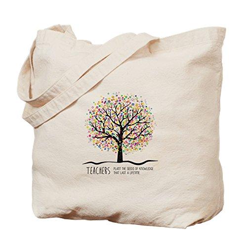 CafePress–Lehrer Wertschätzung Zitat–Leinwand Natur Tasche, Reinigungstuch Einkaufstasche Tote S khaki