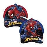 Spiderman AUSWAHL Baseball Cap Kappe Schirmmütze Kinderbaseballcap (rot)