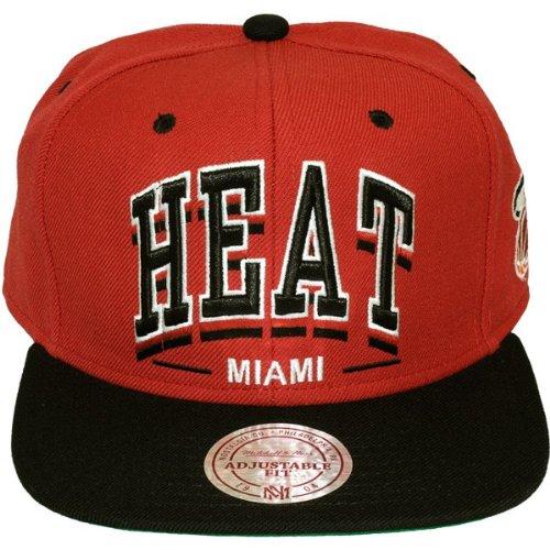 Mitchell & Ness NBA Miami Heat Triplearch casquette