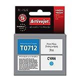 ActiveJet EXPACJAEP0214 cartucho de tinta Cian