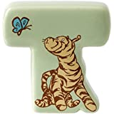 """Classic Pooh """"T Tigger"""" Ceramic Alphabet Letter"""