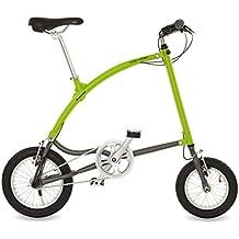 Ossby Arrow Bicicleta Plegable, Unisex Adulto, Pistacho, Talla Única