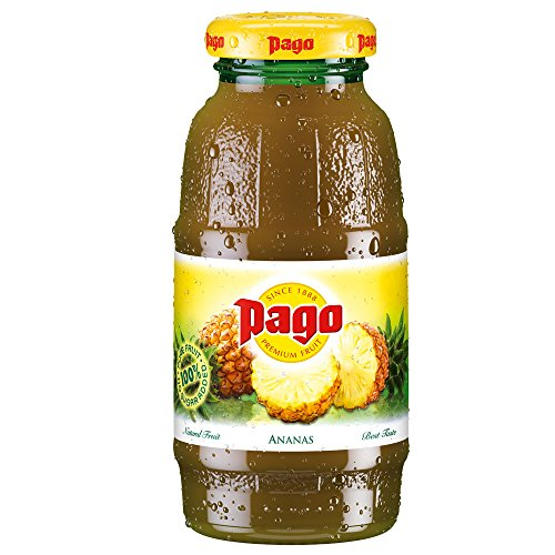 Pago Fruchtsaft – Ananas 24×0,2l
