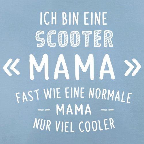 Ich bin eine Scooter Mama - Herren T-Shirt - 13 Farben Himmelblau
