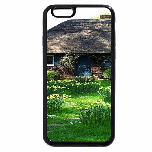 iPhone 6S / iPhone 6 Case (Black) Cute Little Cottage