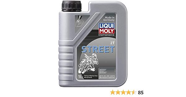 Liqui Moly 6015040808 Semi Synthetic 2 Stroke Motorcycle Oil Auto