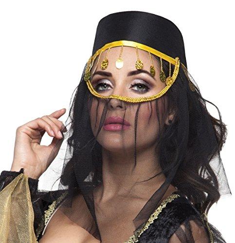 Bauchtanz Kostüm Pirat - Halloweenia - Hut Kostüm Bauchtanz Orient, Gold