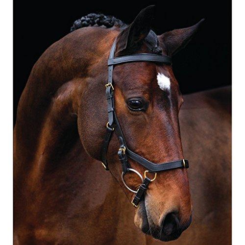 Horseware Rambo Micklem Multibridle 3 in 1 Trense Zaum Größe und Farbe wähbar (schwarz, COB)