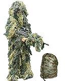 Niños camuflaje Ghillie Edad 3 - 7 Años - Ejército niños camuflaje Traje de francotirador