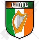 IRLANDE Irlandais EIRE Harpe Gaélique Écusson, 100mm Vinyl Sticker, Autocollant