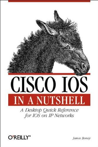 Cisco IOS in a Nutshell (en anglais) par Boney