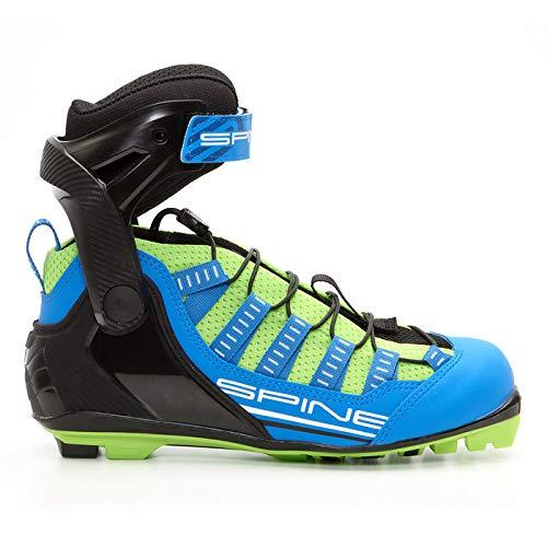 Spine Skiroller Schuh Skiroll Skate Roller Skike Schuhe Sommer für NNN-, Prolink- und Turnamic-Bindungen (43) (Schuhe Langlauf Nnn)