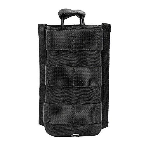 riiya Tactical MOLLE POUCH TASCHE ¨ ¤ SAC Compact EDC SAC DE Größe 1000D, schwarz Ems Gps
