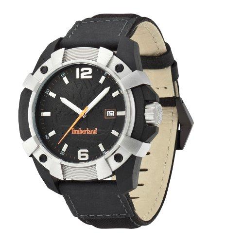 Timberland - TBL13326JPBS-02 - Montre Homme - Quartz Analogique - Bracelet différents matériaux Noir