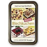 Kleine Blechkuchen-Set: Buch und passende Backform