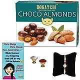 BOGATCHI Rakhi For Brother, Chocolate Coated Almonds, Chocolate Almonds, Rakhi Chocolate Combo, Rakhi Chocolate...