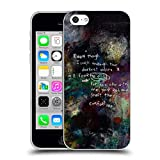 Head Case Designs Offizielle Michel Keck Psalm 4 Religiös Abstrakt Soft Gel Hülle für iPhone 5c