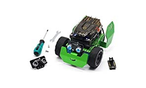 Robobloq Robot Kit - Robotics for Kids Age 6+, Line Tracking & Arduino Coding - STEM Toy Q-Scout (65 pcs)