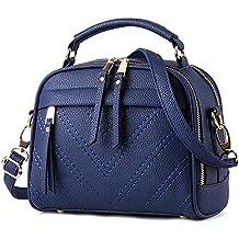 Ruiren Ladies Messenger Bag Bolsos Multifunción, Bolsos de Hombro para Mujeres