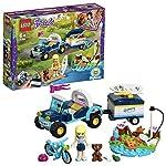 LEGO CityTown FuoristradadeiVigilidelFuoco con Autopompa e Cannone ad Acqua, Giocattoli per Bambini dai 5 Anni in su, 60231  LEGO