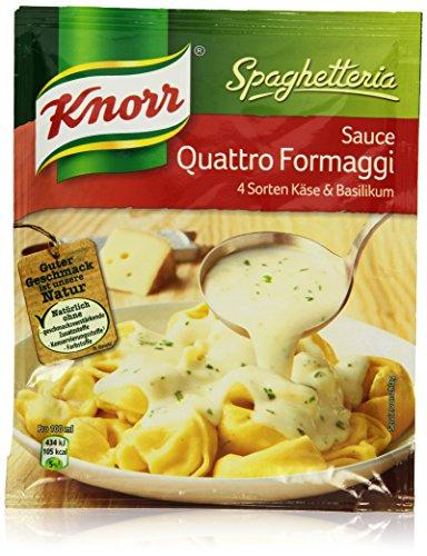 Preisvergleich Produktbild Knorr Spaghetteria Quattro Formaggi Soße 50 gm