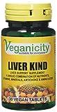 Veganicity Liver Kind Detox Supplement - 30 Tablets