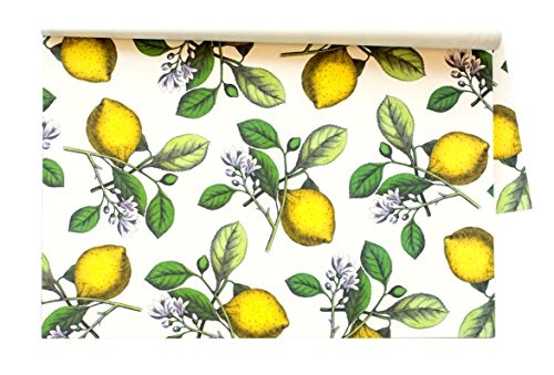 Küche Papier Zitronen Einweg Tischsets-30Blatt/Pack Made in USA (Partei Usa In Den)
