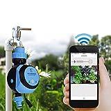 MEETGG Elettronico Timer per l'acqua, Intelligente Automatico Elettronico Timer per l'acqua Smart Phone Telecomando Giardino irrigazione Irrigazione Timer di Sistema
