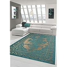 suchergebnis auf amazon.de für: wohnzimmer teppich türkis - Wohnzimmer Beige Turkis