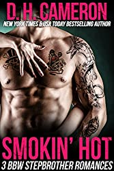 Smokin' Hot - 3 BBW Stepbrother Romances (English Edition)