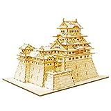 Wooden Art KI-GU-MI Himeji Castle (japan import)