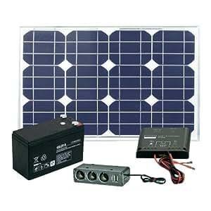 Kit solaire 20 W avec batterie Solar Trend 03020