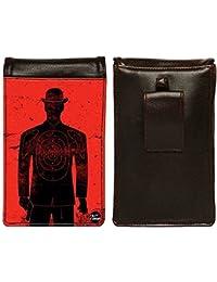 Nutcase Designer Travel Waist Mobile Pouch Bag For Men, Fanny Pack With Belt Loop & Neck Strap-High Quality PU... - B075N47FND