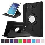 Galaxy Tab E 9.6 Housse - 360°Rotation Housse en cuir pour Samsung Galaxy Tab E 9.6...