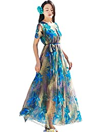 Medeshe Plus Size Clothing Floral Ball Gala Party Sundress Evening Long  Floral Maxi Dress 12b5c5a61