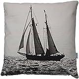 Segelschiff Kissen, Kissenbezug, 50x50cm, Baumwolle