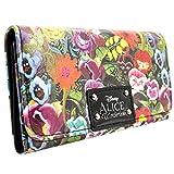 Disney Alice In Wonderland Blumen Grün Portemonnaie Geldbörse