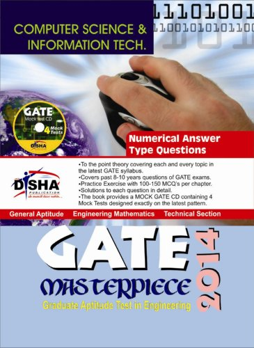 GATE Masterpiece Computer Science & Information Technology Exam 2014 (With 4 Mock Test CD) (Old Edition)