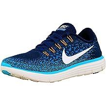 Nike Damen Free Run Distance Halbschuh, Blau, 40 EU