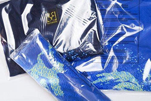 100 Polybags für Textilien 250x300 mm transparent selbstklebend